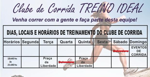 Clube de Corrida TREINO IDEAL